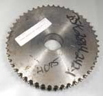 Torwegge chain wheel